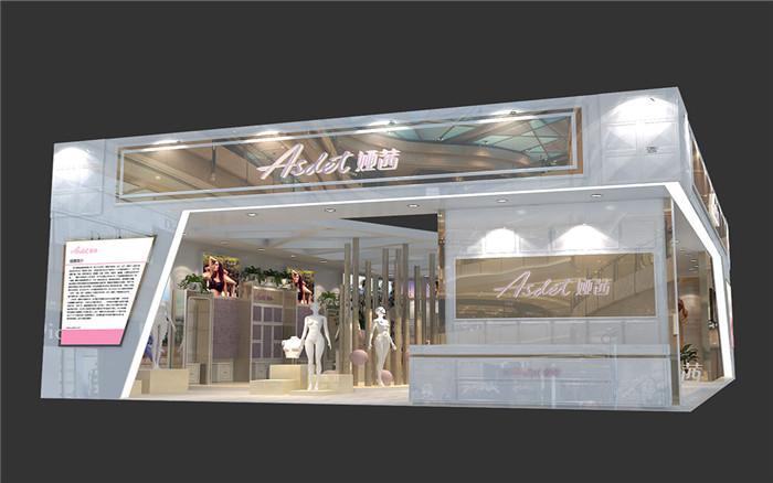 娅茜-广州服装展台设计