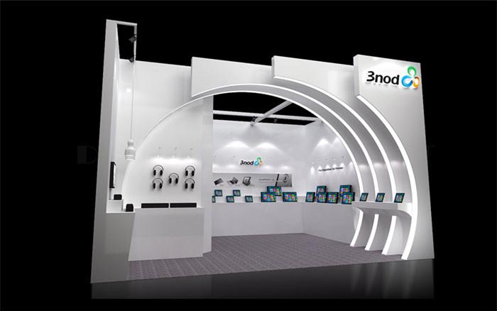 3nod-香港电子展台设计