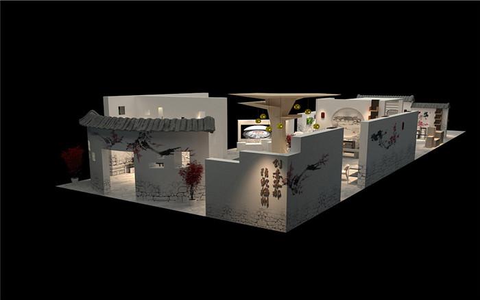 客家茶-广州茶博会展展台设计