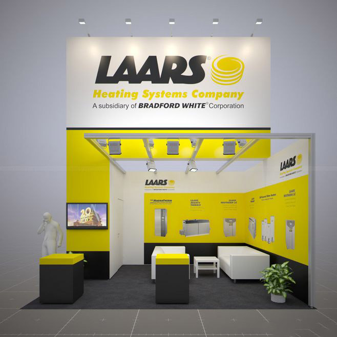 Laars Heating Systems-上海进口博览会展会设计