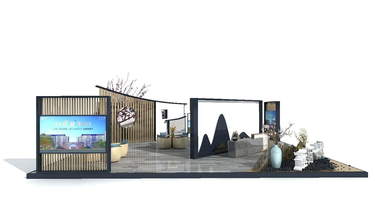 广州房地产展会展台设计